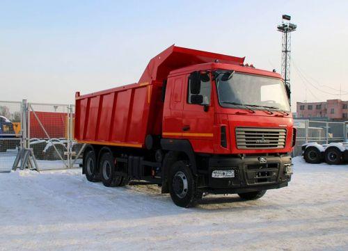 МАЗ в этом сезоне сделал ставку на 20-кубовые строительные самосвалы - МАЗ