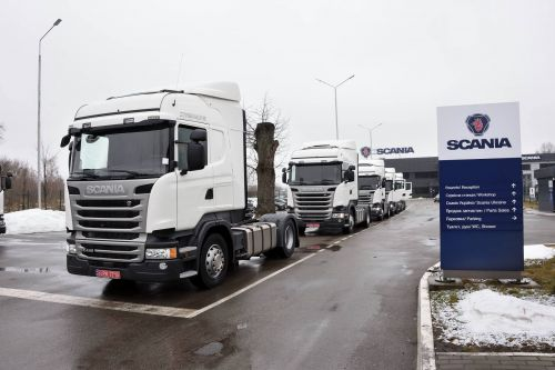 Технику Scania вновь выбрала муждународная компания