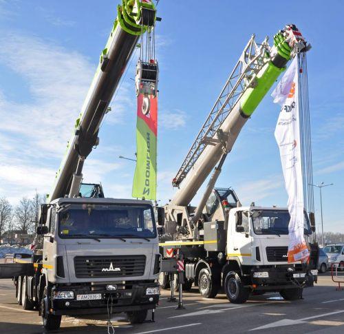 МАЗ показал последние новинки для строительной отрасли - МАЗ