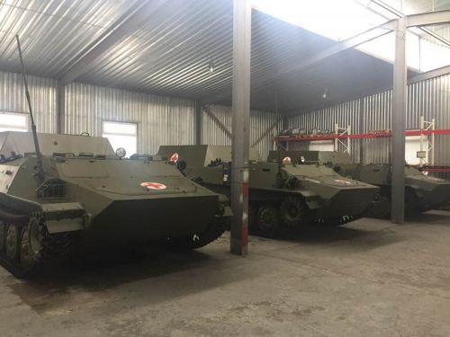 ВСУ получили партию бронированных медицинских машин на базе МТ-ЛБ