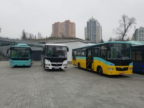 На каких автобусах будут ездить в украинских городах. Обзор выставки City Trans Ukraine 2018 - электробус