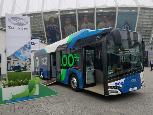 На украинский автобусный рынок выходит новый бренд Solaris - Solaris