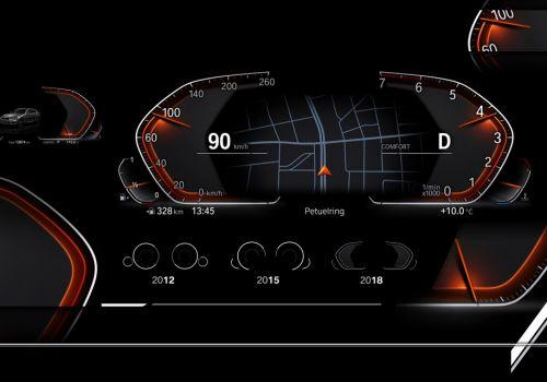 BMW представила новое поколение цифровой панели приборов