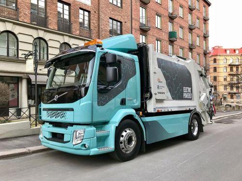 Электрический Volvo FL поступит в продажу уже в следующем году