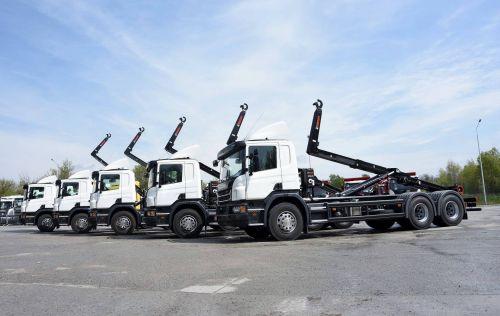 Scania поставила в Украину новую спецтехнику - Scania