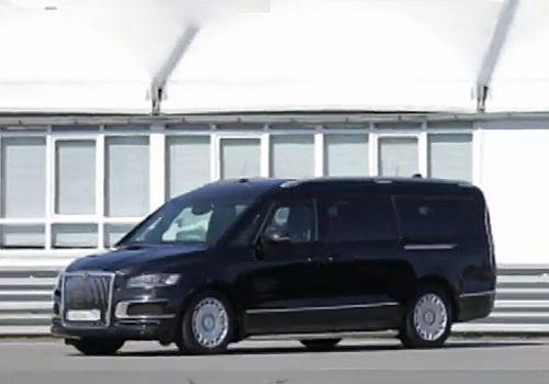 """Появились фото второго авто из Путинского """"Кортежа"""". Известны и его характеристики"""