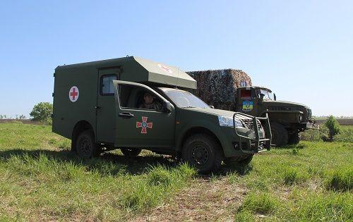 Богдан 2251 приняли участие в учениях пулеметчиков - Богдан