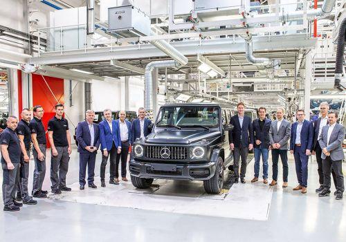 Стартовало производство внедорожника Mercedes-Benz G-Class нового поколения