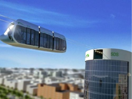 В Киеве может появиться подвесной транспорт SkyWay между Подолом и Троещиной - метробус