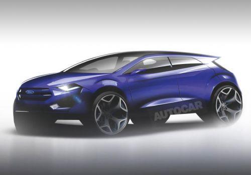 Первый электрический кроссовер Ford построят на платформе Focus - Ford