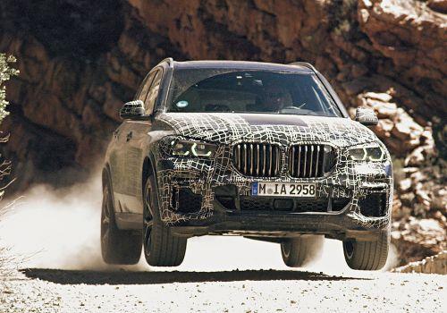 BMW дала понять, каким будет новое поколение X5 - BMW