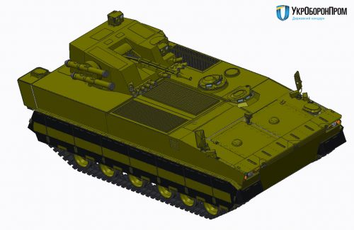 Стали известны характеристики новой украинской БМП-У