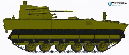 Стали известны характеристики новой украинской БМП-У - БМП