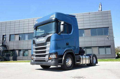В Украину поставлена первая Scania S-серии нового поколения - Scania