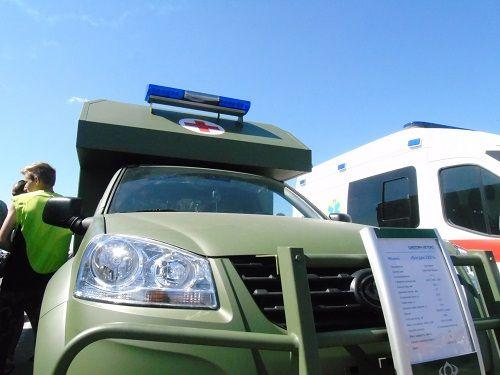 Военные автомобили Богдан приняли участие в фестивале «Mriya-Fest» - Богдан