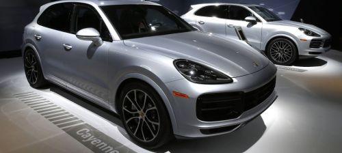 Porsche останавливает продажи автомобилей в ЕС