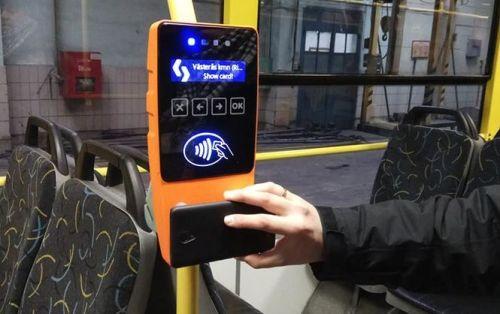 В Киеве в троллейбусах «Богдан» теперь можно расплатиться бесконтактно