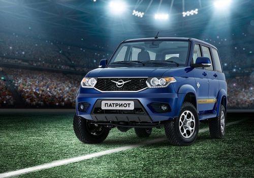 УАЗ выпустил специальную версию Patriot к чемпионату мира по футболу