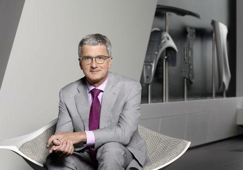 Арестованный глава Audi уволен со своего поста