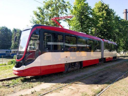 Украинский производитель показал первый трамвай для столицы Египта