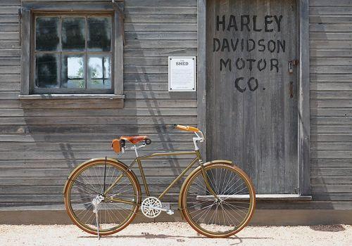 Под легендарной маркой Harley-Davidson начали делать велосипеды - Harley-Davidson