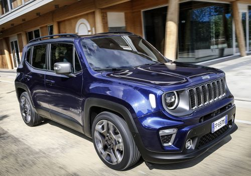 Jeep Renegade получил новые двигатели