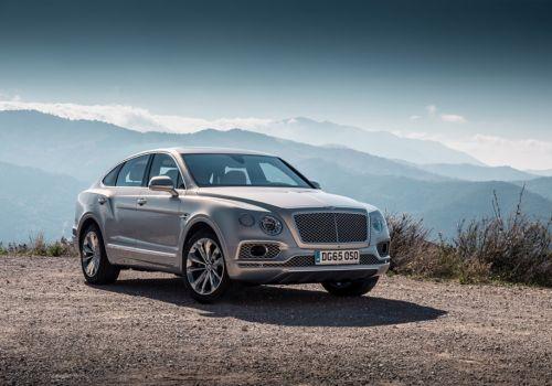 Bentley анонсирует версию купе на базе внедорожника Bentayga