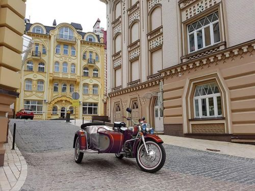 Финальная серия мотоциклов Днепр была экспортирована в Германию - Dnepr Vintage