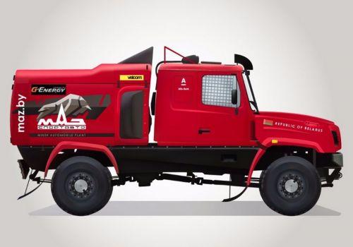 МАЗ готовит капотный грузовик