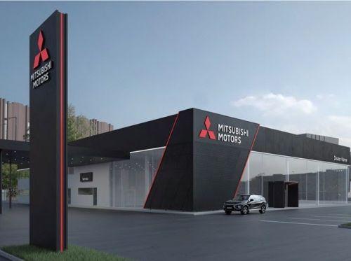 Дилерские центры Mitsubishi получат новый дизайн