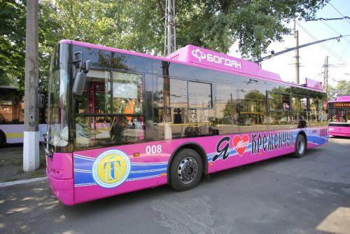 Кременчуг получит еще 12 новых троллейбусов