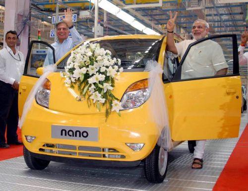 Самый дешевый автомобиль в мире Tata Nano снимут с конвейера