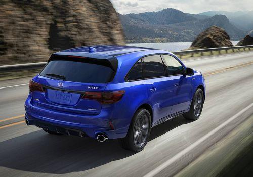Семиместный кроссовер Acura MDX обновился - Acura