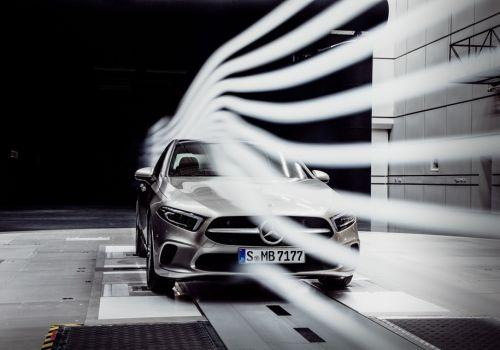 Седан Mercedes-Benz A-Class стал лучшим по аэродинамике