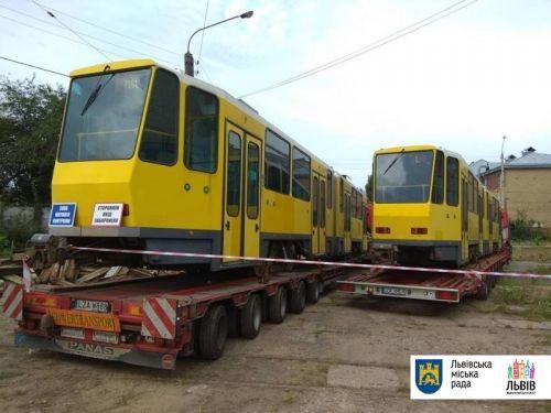 Во Львов поставили б-у трамваи по 800 тыс. евро