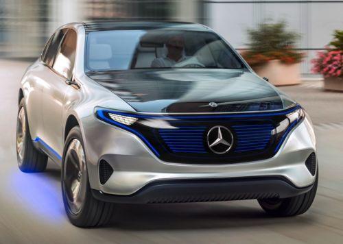 Mercedes-Benz в сентябре представит свой первый электрический кроссовер