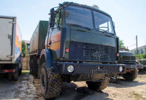 Грузовики Богдан 6317 проходят тестовую эксплуатацию на Востоке Украины
