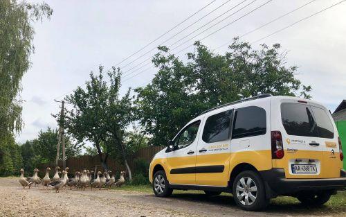 Мобильные отделения Укрпочты уже начали ездить в отдаленные села