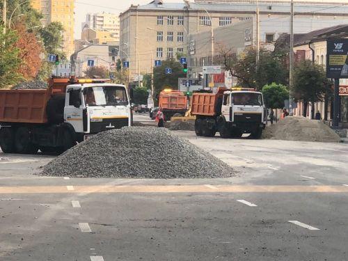 С помощью техники МАЗ в Киеве оперативно ликвидировали последствия субботнего ливня