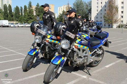 В Киеве появятся патрульные на мотоциклах