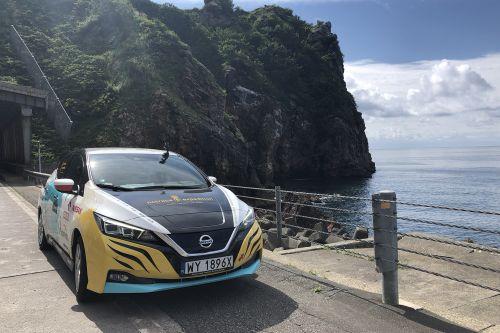 Электромобиль Nissan Leaf смог за 2 месяца проехать 16000 км
