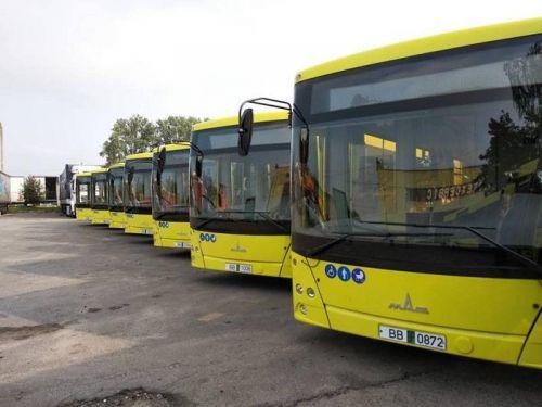Львов начал получать первые автобусы по контракту 2018 года