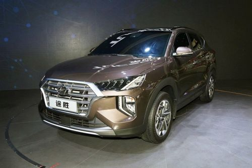 Hyundai показал брутальную версию Tucson
