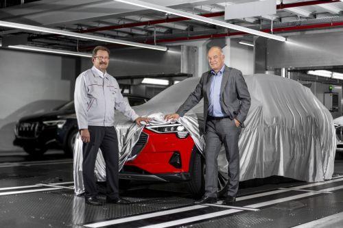 Audi начала серийное производство электрического кроссовера