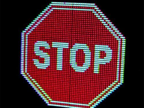 Электронные дорожные знаки будут вытеснять традиционные таблички