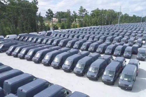 Mercedes-Benz заключил крупнейшую сделку в истории по поставке фургонов Sprinter