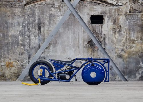 На Чемпионате Мира по Кастомайзингу украинцы представят геометрический мотоцикл