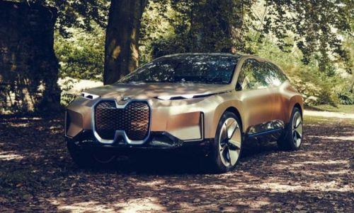 BMW представила концептуальный кроссовер iNEXT