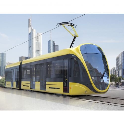 Tatra-Юг представит футуристический трамвай