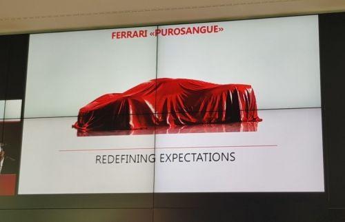 В Ferrari объявили название кроссовера, который выпустят в 2022 году - Ferrari